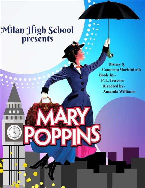 Mary Poppins advertisement poster